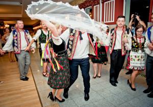 oczepiny na weselu łemkowskim