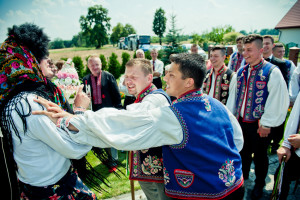 wesele łemkowskie, ślub łemkowski, ślub prawosławny