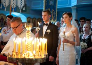 cerkiew w zimnej wodzie, ślub prawosławny, ślub łemkowskie, slub w cerkwii