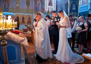 ślub w cerkwii, slub prawosławny, ślub łemkowski, wesele łemkowskie