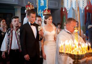 ślub prawosławny, zimna woda, ślub łemkowskie, cerkiew, ślub w cerkwii,