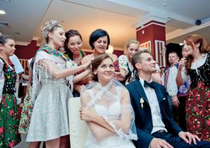 oczepiny na weselu łemkowskim, wesele łemkowskie