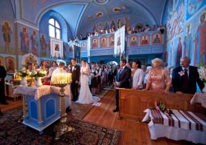 cerkiew, zimna woda, ślub prawosławny, slub łemkowski