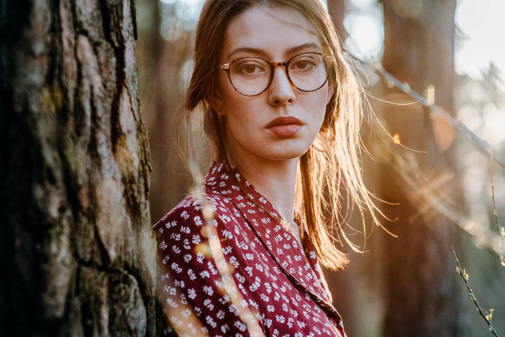 sesja kobieca portretowa fotograf lubin