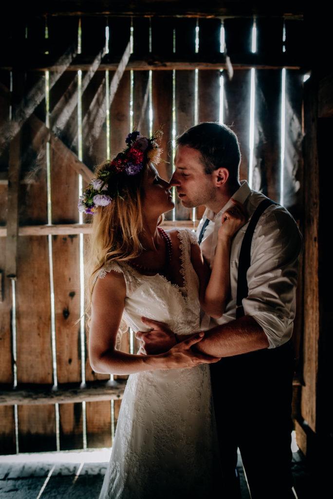 Plener ślubny w skansenie