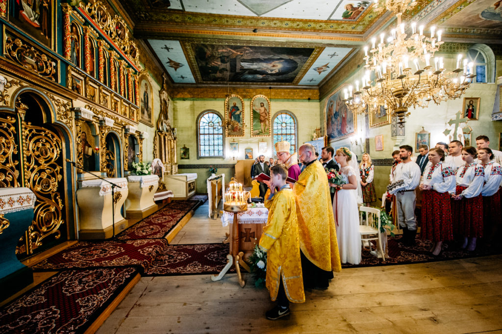 slub w cerkwi