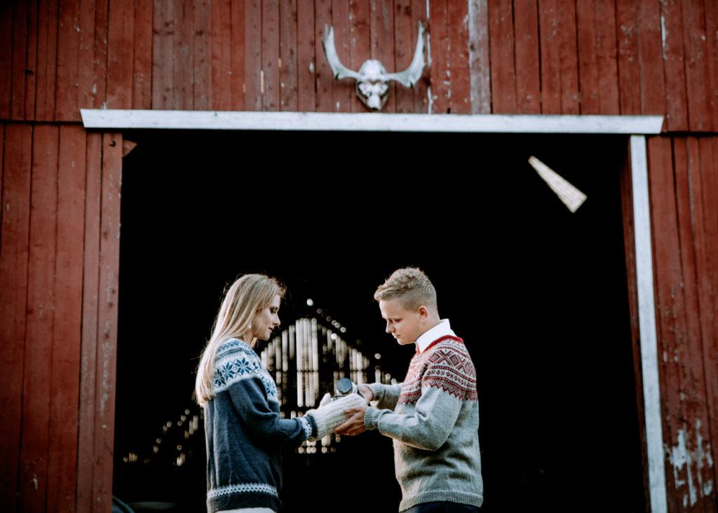 plener slubny w norwegii